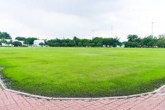 Landschap van grasgebied Stock Afbeeldingen