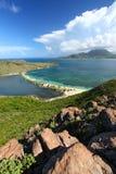 Landschap van Heilige Kitts stock fotografie