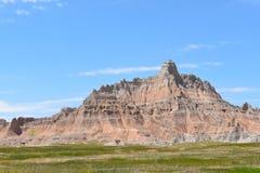 Landschap van het Badlands het Nationale Park Stock Foto's
