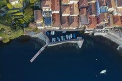 Landschap van het dok van Varenna royalty-vrije stock afbeeldingen