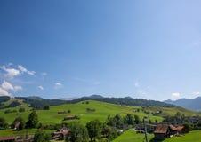 Landschap van het gebied Appenzell in Zwitserland in de zomer Royalty-vrije Stock Afbeeldingen