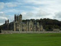 landschap van het kasteel Stock Afbeeldingen