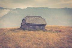 Landschap van het land in het gebied van Transsylvanië Stock Foto's