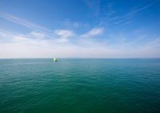 Landschap van het Meer van Konstanz in Zwitserland in de zomer Stock Afbeelding