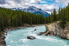 Landschap van het Nationale Park van Banff Stock Afbeelding