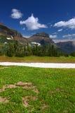 Landschap van het Nationale Park van de Gletsjer royalty-vrije stock foto