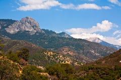 Landschap van het Park van de sequoia het Nationale royalty-vrije stock foto's