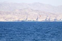 Landschap van het Rode Overzees Royalty-vrije Stock Afbeeldingen