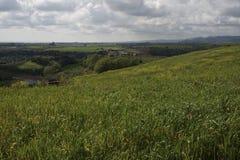 Landschap van het Roman platteland Stock Fotografie