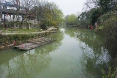 Landschap van het Zhejiang het changxing platteland royalty-vrije stock afbeelding
