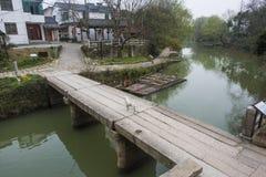 Landschap van het Zhejiang het changxing platteland stock foto's