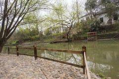 Landschap van het Zhejiang het changxing platteland royalty-vrije stock foto's