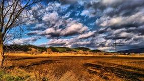 Landschap van Hongarije Royalty-vrije Stock Foto's
