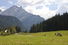 Landschap van Italië Stock Afbeeldingen