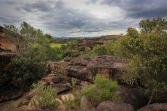 Landschap van Kakadu, Australië Stock Afbeeldingen
