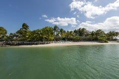 Landschap van Key West stock fotografie