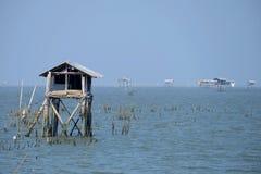 Landschap van Klap Ta Boon Bay stock foto