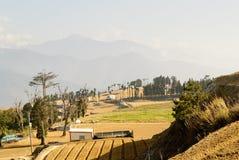 Landschap van landelijk landschap Royalty-vrije Stock Fotografie