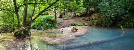 Landschap van Maarata-reservepark in Bulgarije stock foto