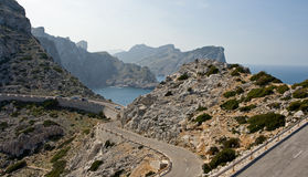 Landschap van Mallorca Stock Foto