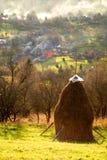 Landschap van Maramures - Roemenië royalty-vrije stock afbeelding
