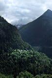 Landschap van Martigny Royalty-vrije Stock Afbeeldingen