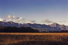 Landschap van moutanin Royalty-vrije Stock Fotografie