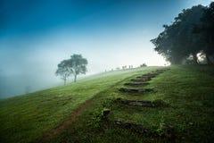 Landschap van Nationaal Park in Nan, Thailand Stock Afbeeldingen