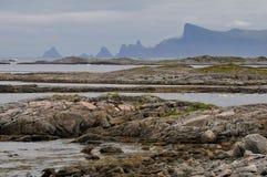 Landschap van Noorwegen Stock Foto