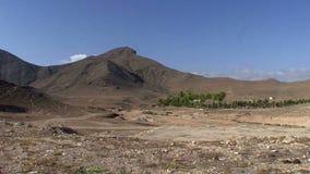 Landschap van Oman stock videobeelden