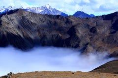 Landschap van Onderstel Gongga royalty-vrije stock fotografie