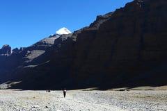 Landschap van Onderstel Kailash stock afbeeldingen