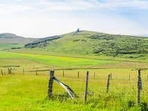 Landschap van Oost-Sussex, Engeland stock foto