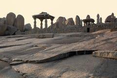Landschap van oude ruïnes Royalty-vrije Stock Foto's