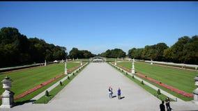 Landschap van Park Nymphenburg - München, Duitsland Royalty-vrije Stock Afbeelding
