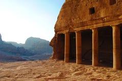 Landschap van Petra, Jordanië royalty-vrije stock afbeelding