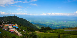 Landschap van phuton Berg phetchabun , reisseizoen in Thailand Royalty-vrije Stock Foto