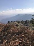 Landschap van piek van berg Falaza royalty-vrije stock afbeeldingen