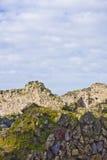 Landschap van Pompei ruïnes Stock Foto