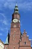 Landschap van Poolse architectuur Stock Afbeelding