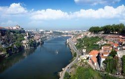 Landschap van Porto, Portugal Stock Afbeelding