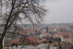 Landschap van Praag royalty-vrije stock afbeeldingen