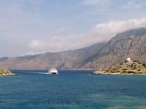 Landschap van Rhodos, Griekenland Royalty-vrije Stock Foto's