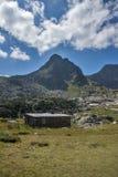 Landschap van Rila-Berg dichtbij, de Zeven Rila-Meren, Bulgarije Stock Fotografie