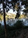 Landschap van rivier royalty-vrije stock foto
