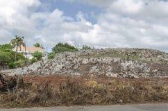 Landschap van Rocky Hill stock foto