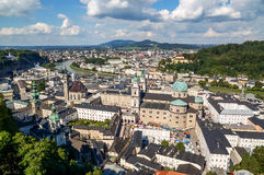 Landschap van Salzburg Stock Afbeeldingen