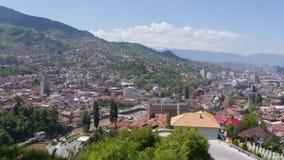 Landschap 5 van Sarajevo stock video