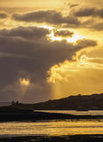 Landschap van Schotse Hooglanden Stock Afbeelding