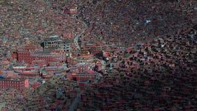 Landschap van Sedah in Ganzi, Sichuan, China royalty-vrije stock foto
